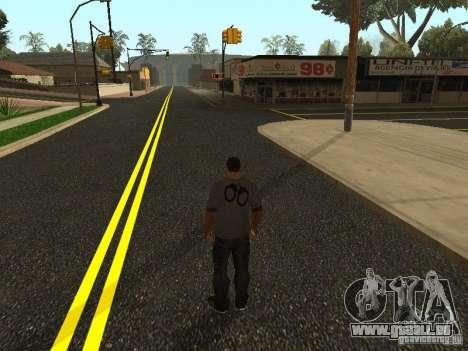 Construction de nouvelles routes à Los Santos pour GTA San Andreas deuxième écran