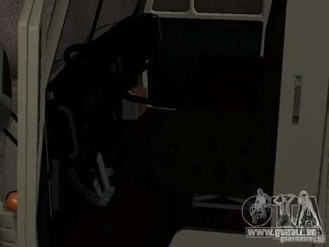 KAMAZ 4310 Watch für GTA San Andreas rechten Ansicht
