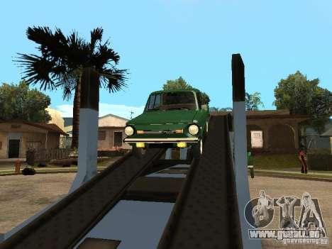 ZAZ 968 m v2 für GTA San Andreas Rückansicht