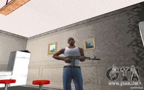 AK-74 m für GTA San Andreas her Screenshot