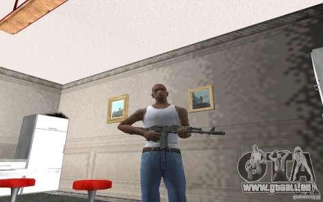 AK-74 m pour GTA San Andreas quatrième écran