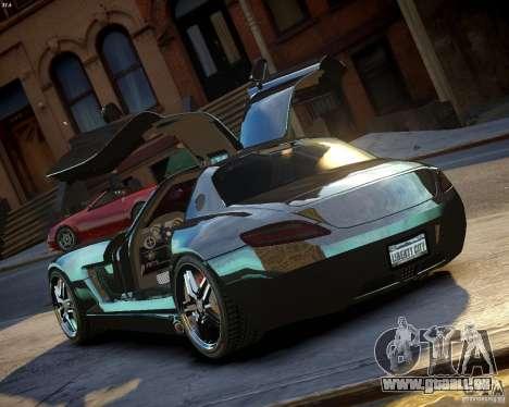 Mercedes SLS Extreme pour GTA 4 Vue arrière de la gauche