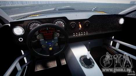 Ford Mustang GT-R pour GTA 4 est une vue de l'intérieur