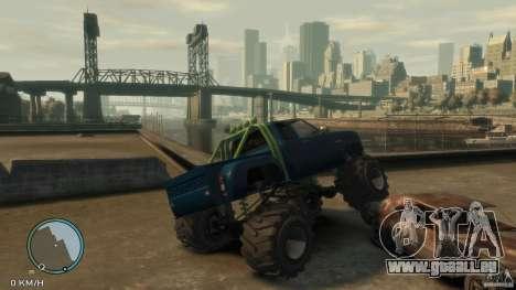 Bobcat megatruck 1.0 für GTA 4 rechte Ansicht