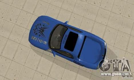 Mazda RX-7 Pickup pour GTA San Andreas vue arrière