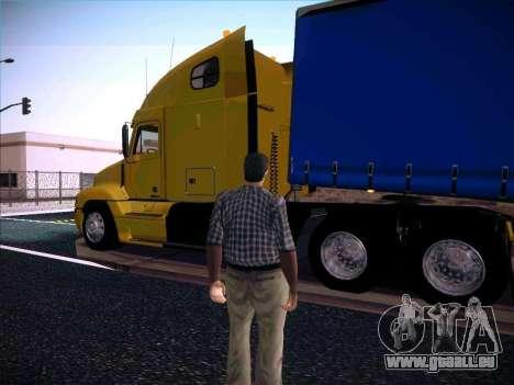 Freightliner Century Classic pour GTA San Andreas laissé vue
