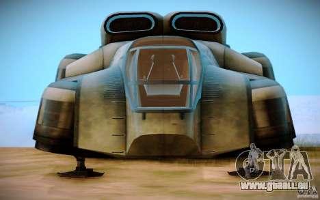 BTR-20 Yastreb pour GTA San Andreas vue de droite
