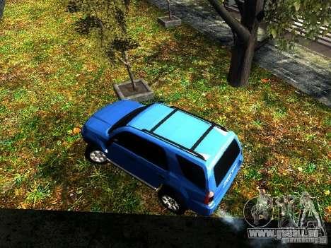 Toyota 4Runner 2009 für GTA San Andreas Rückansicht