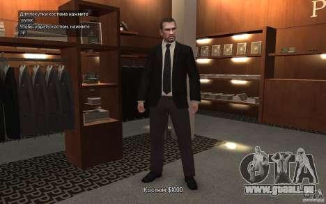 Offene Jacken mit Krawatten für GTA 4 dritte Screenshot