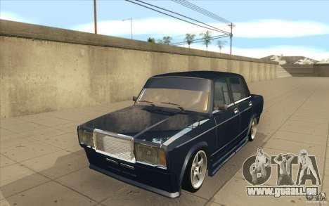 Lada VAZ-2107 rue dérive à l'écoute pour GTA San Andreas