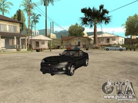 Dodge Viper Police pour GTA San Andreas