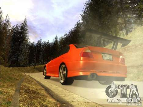 Mitsubishi Lancer Evolution VI 1999 Tunable für GTA San Andreas linke Ansicht
