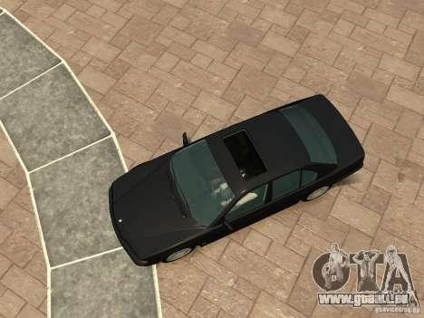 BMW 750i (E38) 1998 pour GTA 4 Vue arrière