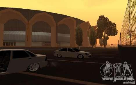 Lada Priora Light Tuning für GTA San Andreas Rückansicht
