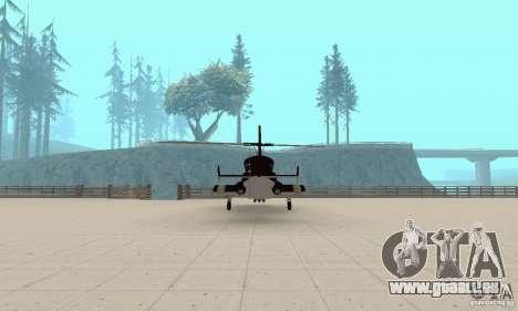 Airwolf für GTA San Andreas Innenansicht
