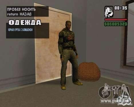 Kleidung aus einem stalker für GTA San Andreas sechsten Screenshot