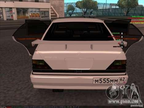 Mercedes-Benz 600SEL AMG 1993 für GTA San Andreas rechten Ansicht