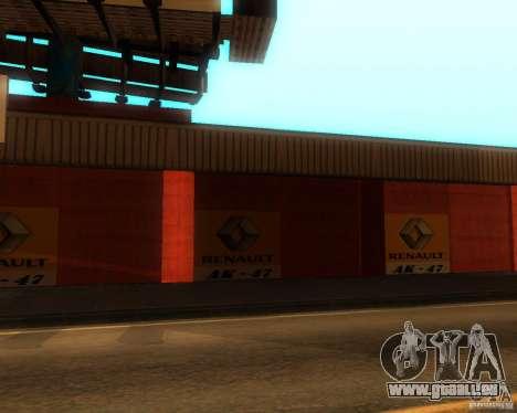 New Garage Painting für GTA San Andreas zweiten Screenshot