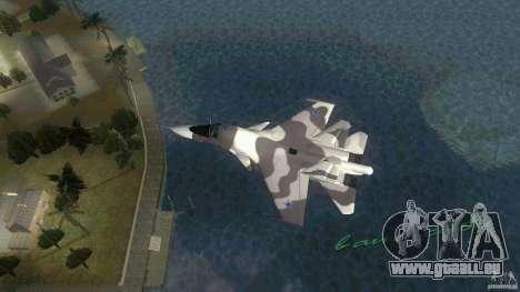 VC Air Force pour une vue GTA Vice City de la gauche