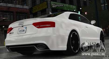 Audi RS5 2011 pour GTA 4 est une gauche