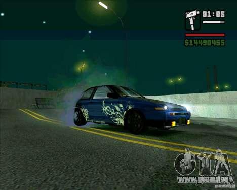 Toyota Trueno AE86 V3.0 pour GTA San Andreas laissé vue