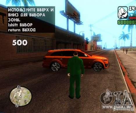 Сar Laich-Spawn Autos für GTA San Andreas