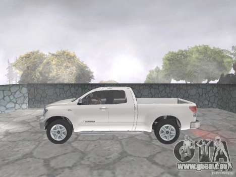 Toyota Tundra pour GTA San Andreas vue arrière