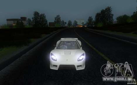 Honda NSX VeilSide Fortune pour GTA San Andreas vue arrière