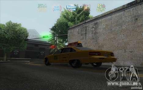 Radio Hud IV pour GTA San Andreas troisième écran