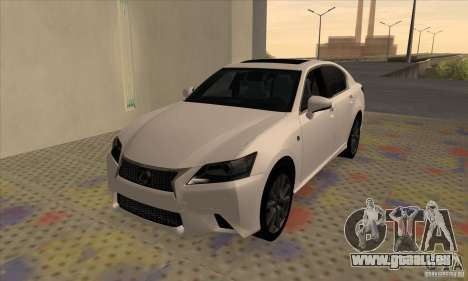 Lexus GS350 F Sport Series IV 2013 pour GTA San Andreas