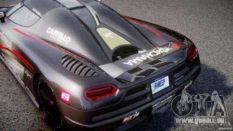 Koenigsegg Agera v1.0 [EPM] pour GTA 4 est une vue de l'intérieur