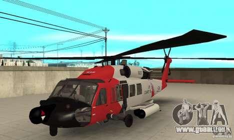 HH-60 Jayhawk USCG pour GTA San Andreas