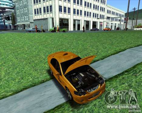 Ford Falcon XR8 Taxi pour GTA San Andreas vue de droite