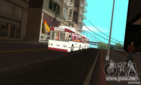 ZiU 682G pour GTA San Andreas