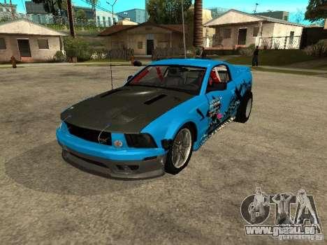 Ford Mustang Drag King pour GTA San Andreas