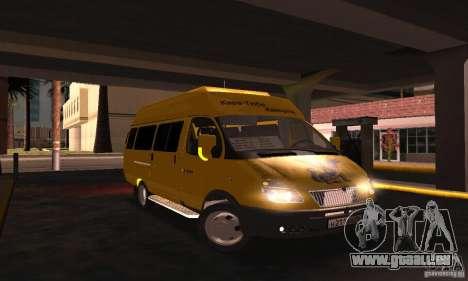 Gazelle 2705 Minibus für GTA San Andreas rechten Ansicht