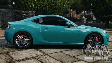 Scion FR-S für GTA 4 linke Ansicht
