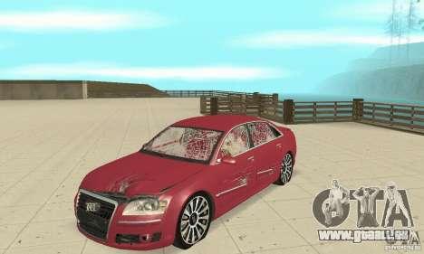 Audi A8L 4.2 FSI für GTA San Andreas Seitenansicht