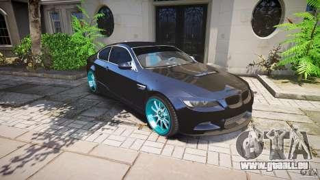 BMW E92 für GTA 4 Räder