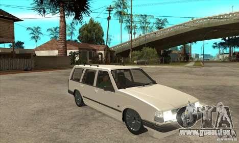 Volvo 945 Wentworth R für GTA San Andreas Rückansicht