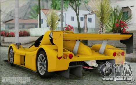 Radical SR3 RS 2009 pour GTA San Andreas laissé vue