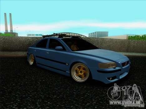Volvo S60 pour GTA San Andreas sur la vue arrière gauche