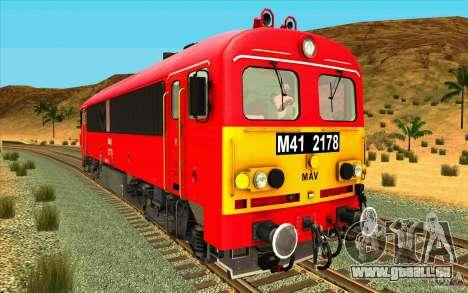 MAV M41 2178 Rattler für GTA San Andreas