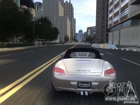 Porsche Boxster S 2010 EPM pour GTA 4 vue de dessus