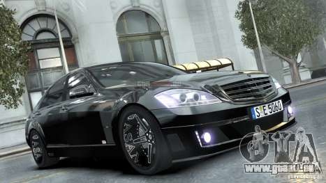 Mercedes-Benz Brabus SV12 R Biturbo 800 2011 pour GTA 4