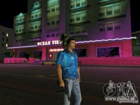 Tommy Vercetti BETA Modell für GTA Vice City zweiten Screenshot