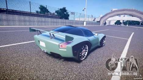 Devon GTX 10 v1.0 für GTA 4 obere Ansicht