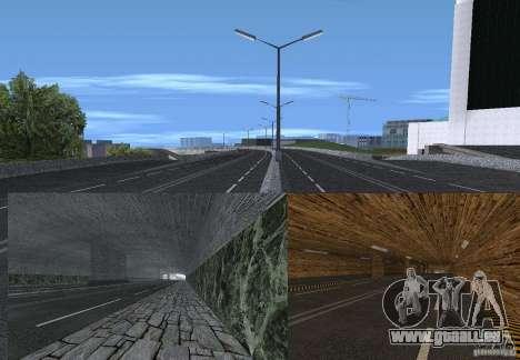 Nouvelles routes pour GTA San Andreas