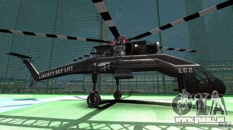 Liberty Sky-lift für GTA 4 linke Ansicht