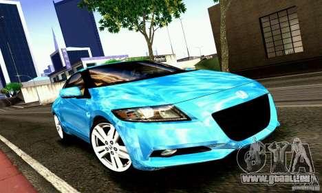 Honda CR-Z 2010 V2.0 für GTA San Andreas linke Ansicht